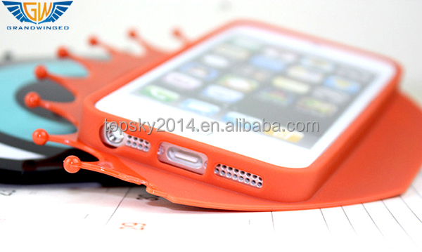 Existing Big Eye Mould Mobile Phone TPU Case For iPhone 5 5s