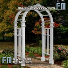 vinyl garden arches and arbors