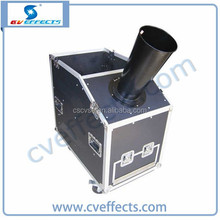 mini powerful stage confetti spray machine / color paper confetti machine / factory manufactured