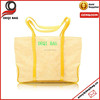 Yellow canvas Tote Bag shopping bag