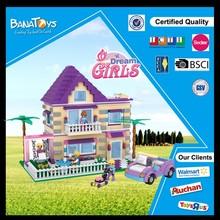 regalo de bloques de construcción de ladrillos de juguete de inteligencia de plástico juguete del ladrillo