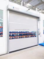 pvc door curtain roller shutter industrial plastic rapid door