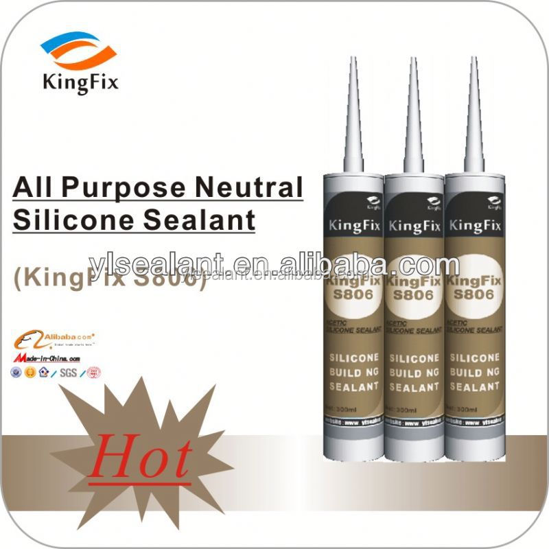 silicone rubber adhesive sealant neutral type