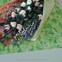 printed sizo web material for flower wrapping or gift wrapping