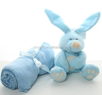 Baby Blanket and Pillow Set / Foldable Blanket Pillow / Baby Plush Blanket