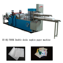 paper napkin 1/8 folding & embossing tissue serviette machine
