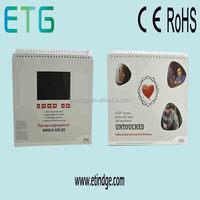 custom talking greeting card/video brochure/video module