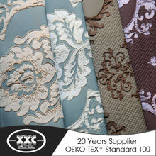 2015 new design blackout curtain with lace