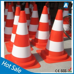 100%PVC Traffic Road Henna Cone Made in China at Factory Price