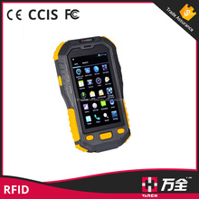 factory android 1D/2D barcode scanner 3G rfid wifi bluetooth reader phone