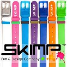 2014 Fashion Style Colorful Perfume Silicone Rubber Belts for Women