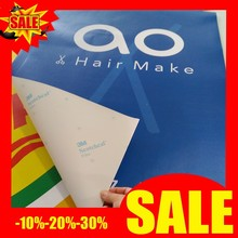 full color printed 3m adhesive tape removable vinyl sticker