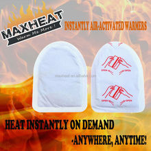 New outdoor sports products Adhesive Disposable Toe Warmers for winter