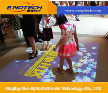 ENOTECH Interactive floor system with UNLIMITED effects and 3D projection system