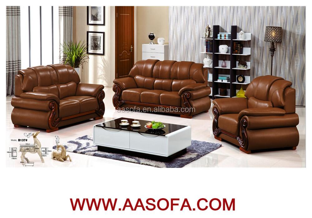 wholesale furniture wood sofa buying from china leather sofa alibaba