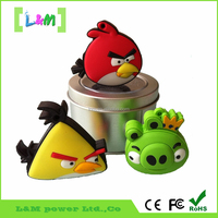 PVC Material USB 2.0 Flash Pen Drive 8GB/cartoon design