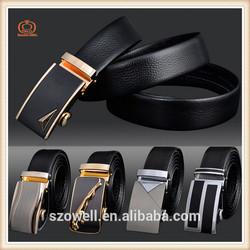 2015 New Men's Genuine Leather Belt Buckle Automatic Buckle Logo OEM Design Metal Buckle