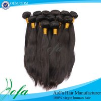 Factory wholesale remy hair chocolate
