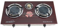Cooking Helper India Hot sale Glass TOP Gas Cooker 3 Burner Table stove