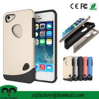 best quality tpu+ pc mobile phone cover for iphone 5s