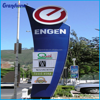 USA Market Gas Station Led Price Sign, Gas Station Price Signs For Sale