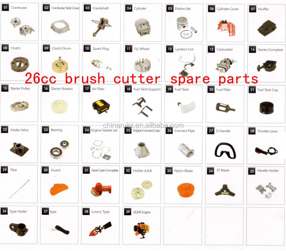 26cc brush cutter