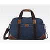 Alibaba China blue leather men travel bag