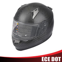 New model carbon fiber Motorcycle helmet for sale