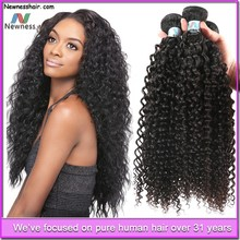7A Top Quality Different Size NoTangling Kinky Curly Malaysian Hair Weft Accept Paypal