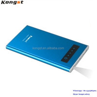 Colourful slim and portable moblie power bank 8000mah