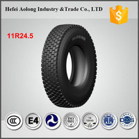 China famous brand superior quality 11r/24.5 truck tires