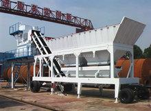 Mobile concrete batch plant price YHZS25
