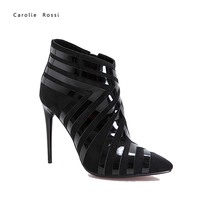 women european winter ankle boots shoes for women made in italy