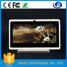 Full function Wholesale Best Price 7 inch Boxchip A33 dule core pc tablets, new arrival Android junior tablet CE&ROHS