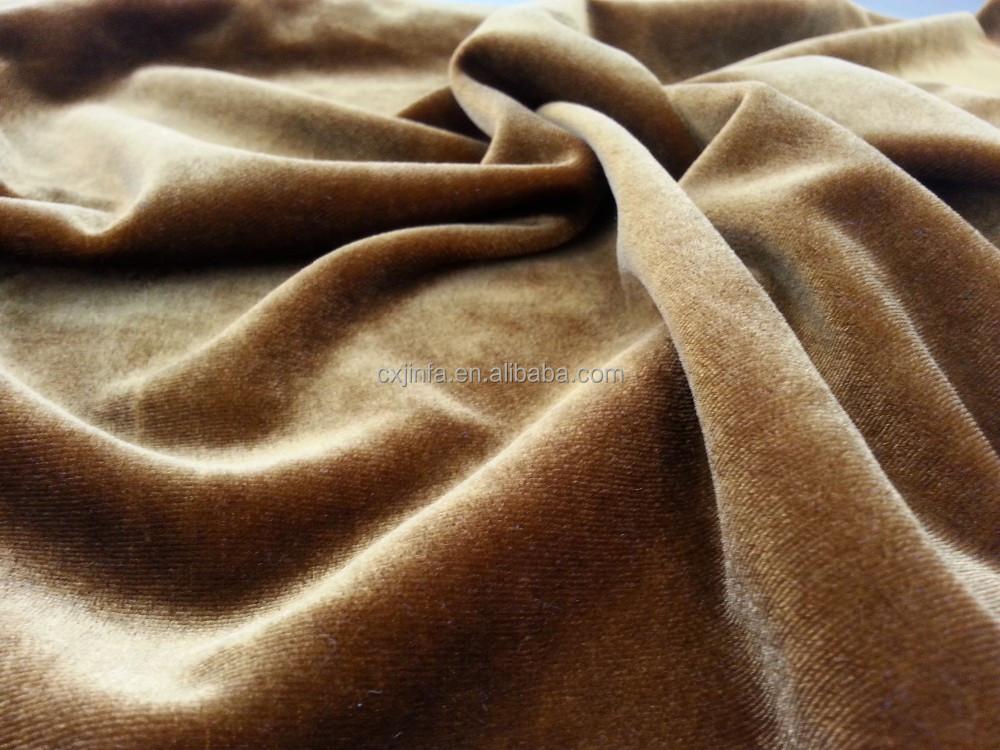 100%Polyester Spandex Super Soft Fabric