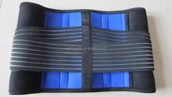 best selling reusable adjustable waist support neoprene back lumbar support brace double pull work waist belt AFT-Y010
