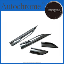 Chrome car trim accent styling Chrome Side Hood Air Vent Trim for Ra nge Rover Evoque