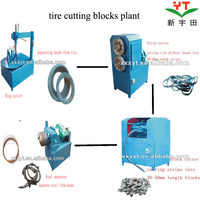 used tire scrap recycling plant with good feedback