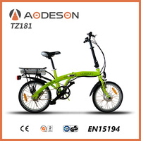 Hot sale cheap motorcycle folding e bike TZ181electric scooter with aluminum alloy frame bicycle