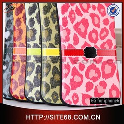 Leopard print tpu case for 6G new case Factory wholesale price mobile phone case for iphone