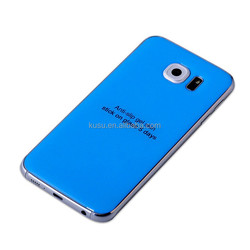 High end material epoxy gel skin for Samsung S6