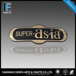 Manufacturer customized chrome plating auto logo car badge emblem