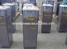 inondé de plomb acide de batterie 2v 600ah opzs batterie
