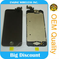 top quality 100% original for iphone 5 display glass,brand new top quality