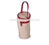 Polka Dot and Bear Pink Diaper Tote Bag with bottle/Milk bottle