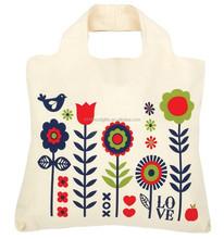 2015 Summer Alibaba China new product canvas cotton ladies handbag wholesale