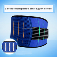 Elastic wrap lumbar support, back support
