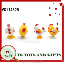 2014 new toy small plastic wind up chicken toy