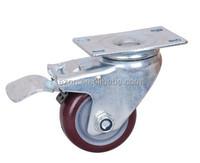 storage flight case wheel caster /speaker carry case heavy wheel /custom case caster wheel