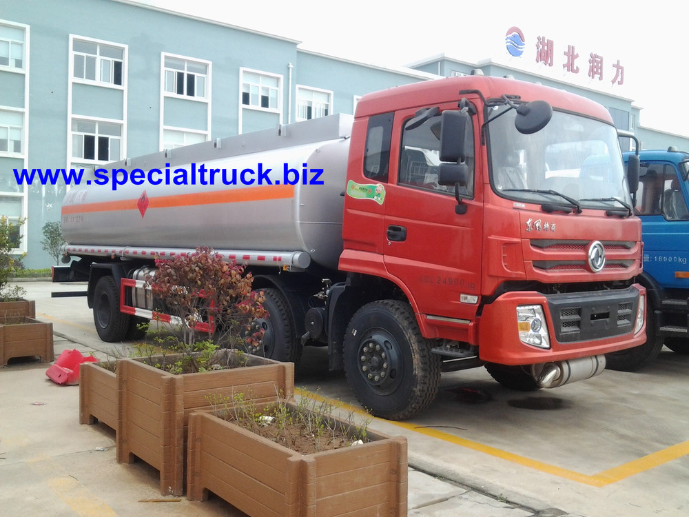 Dongfeng fuel tanker truck 6*2 to Africa
